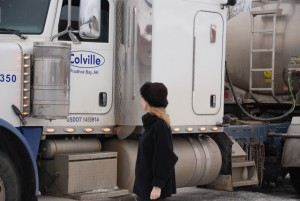 Rosamund Lupton Alaska truck 2
