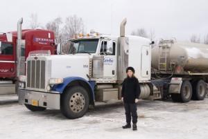 Rosamund Lupton Alaska truck